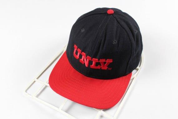 90s New Era Pro Model UNLV Running Rebels Spell Out Snapback  d61e4c213a1f