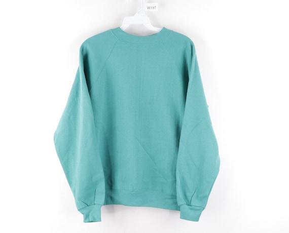 90s Hanes Streetwear Blank Crewneck Sweatshirt Tea