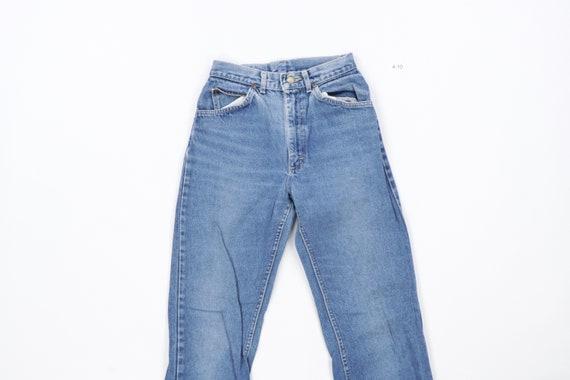 70s Lee MR Distressed Straight Leg Jeans USA Talo… - image 2