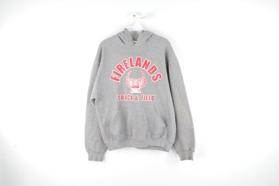 90s Russell Athletic Firelands Track Field Hoodie