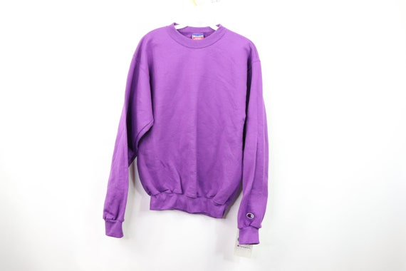 New 90s Champion Long Sleeve Blank Crewneck Sweate