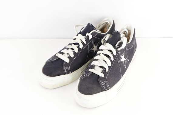 70s NOS Converse One Star Suede Ox Low Top Sneake… - image 2