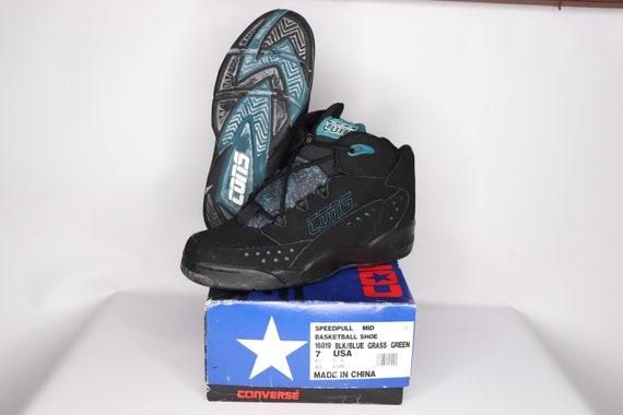 90s New Converse Cons Speedpull MId Basketball Sh… - image 3