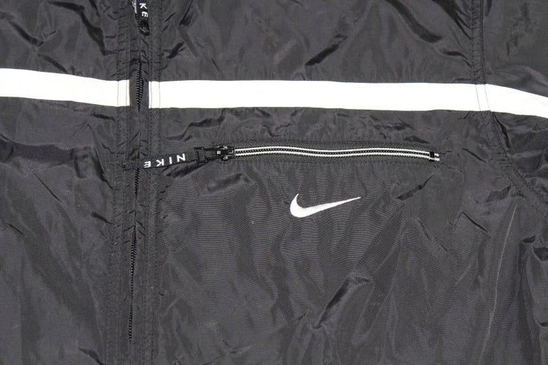 cba5c25c1 90s Nike Full Zip Big Logo Outdoor Fall Windbreaker Jacket | Etsy