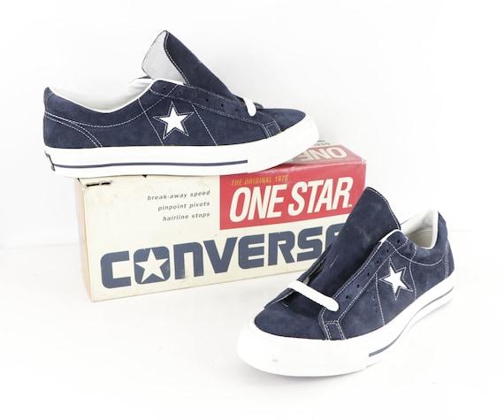 90s NOS Deadstock Converse One Star Suede Ox Sneak