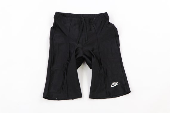 90s Nike Spell Out Stitched Padded Cycling Spandex
