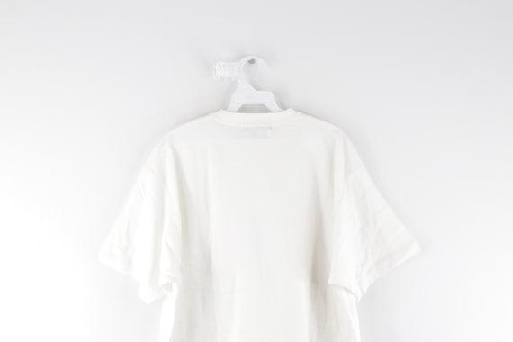 90s Rockabilly Blank Short Sleeve Pocket T-Shirt … - image 7
