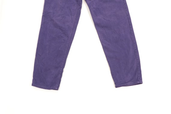 90s Guess Streetwear Spell Out Tapered Leg Jeans … - image 4