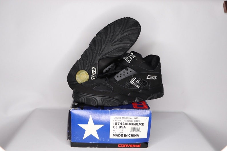 249c68299e1a 90s New Converse Cons React Court Marshal Mid Basketball Shoes