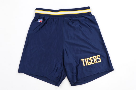 80s Russell Athletic Above Knee Tigers Nylon Baske
