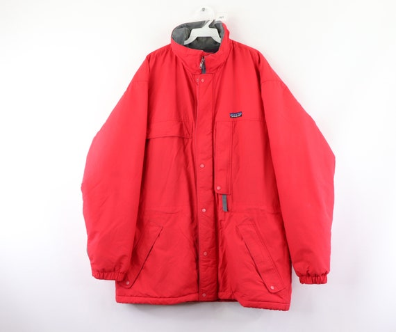 90s Patagonia Spell Out Insulated Outdoor Parka Ja