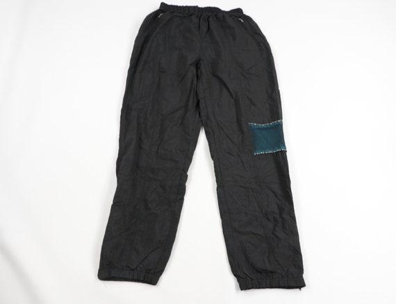 90s Streetwear Mens Large Lined Nylon Windbreaker