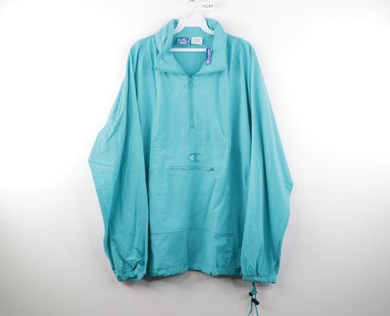 NOS 90s Champion Big Logo Hooded Anorak Jacket Win