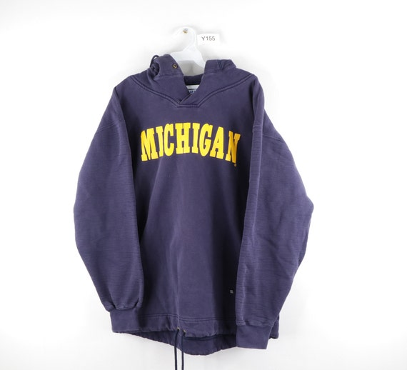 80s Russell Athletic University of Michigan Hoodie