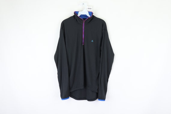 80s Nike ACG Spell Out Color Block Half Zip Pullov