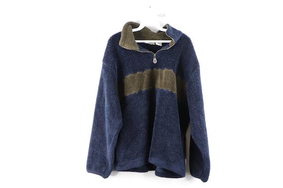 90s Streetwear Color Block Deep Pile Fleece Sweats