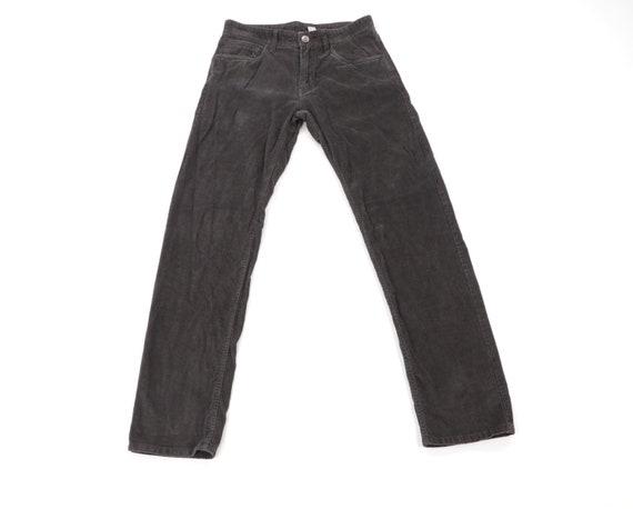 90s Streetwear Slim Straight Leg Corduroy Pants Gr