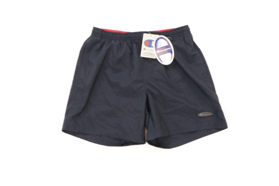 NOS 90s Champion Streetwear Spell Out Lined Shorts