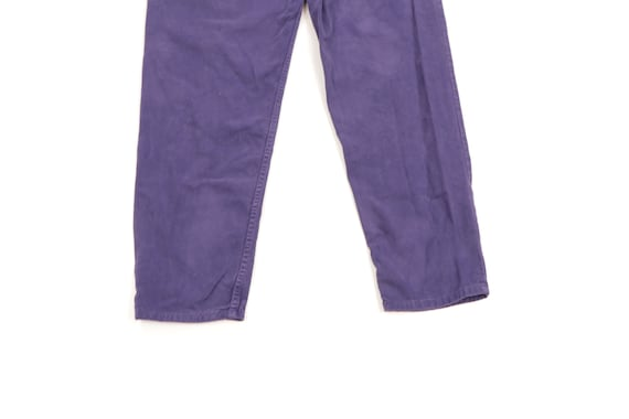 90s Guess Streetwear Spell Out Tapered Leg Jeans … - image 9