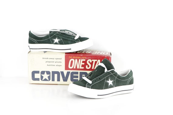 90s NOS Deadstock Converse One Star Suede Ox Sneak