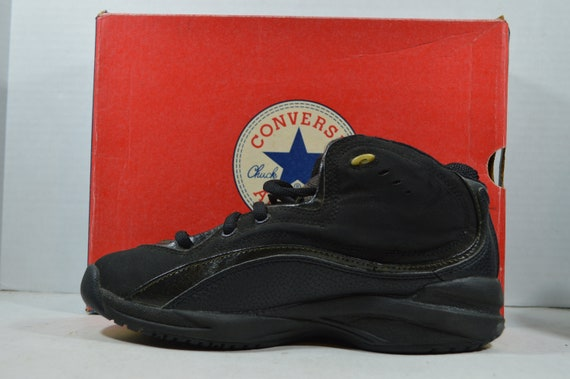 Vintage 90s New Converse All Star Recruit Mid Men… - image 5