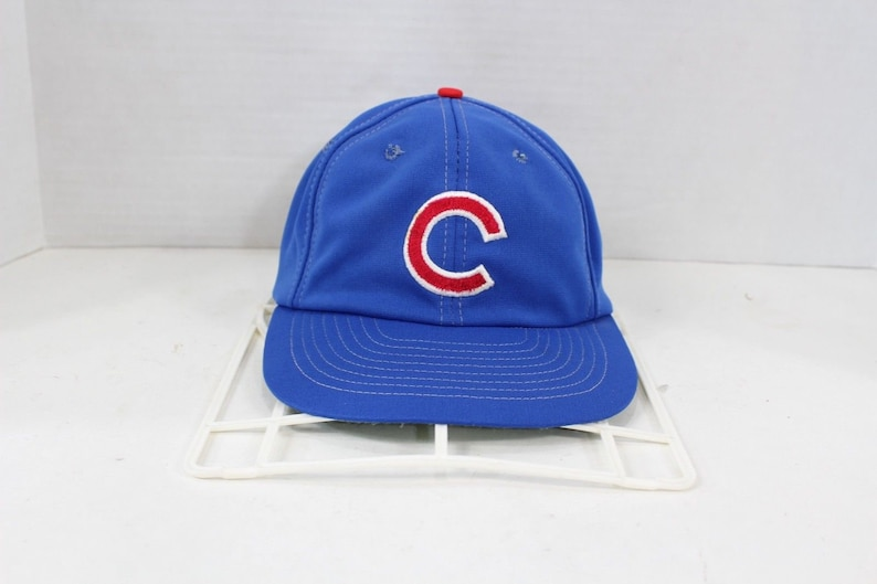 new concept 8fc8f e212e 80s Sports Specialties Chicago Cubs MLB Baseball Snapback Hat   Etsy