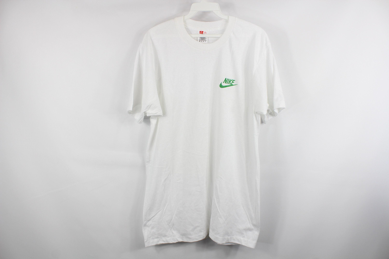 90s Hanes X Nike Spell Out Custom Short Sleeve T Shirt Shirt