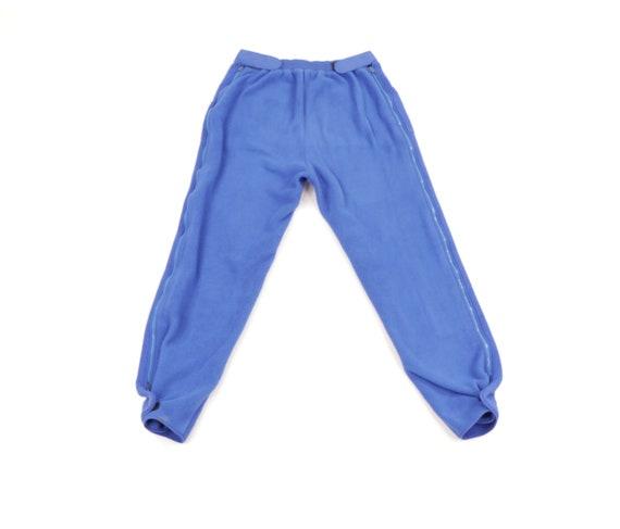80s LL Bean Fleece Adjustable Cuff Joggers Sweatpa