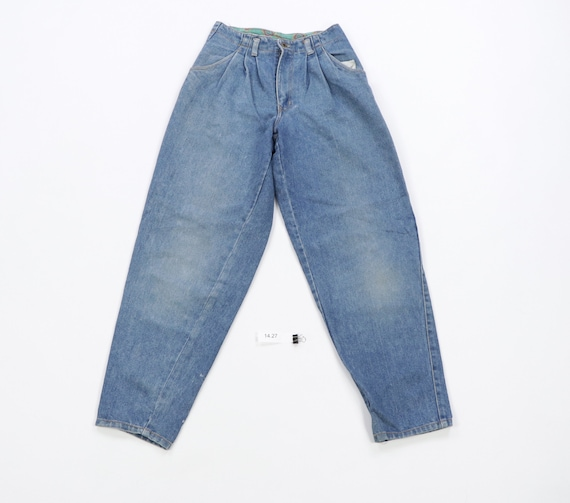Vintage 90s Streetwear Faded Loose Fit Tapered Leg