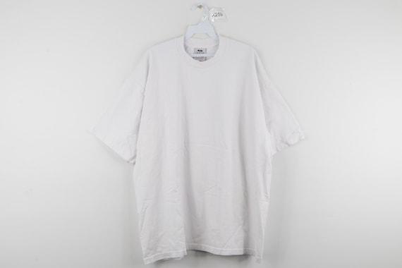 90s Streetwear Blank Short Sleeve Boxy Fit T Shirt