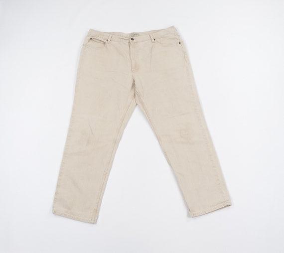 90s LL Bean Classic Fit Distressed Denim Jeans Pan