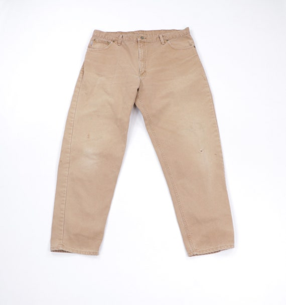 90s Carhartt Distressed Faded Duck Canvas Work Pan