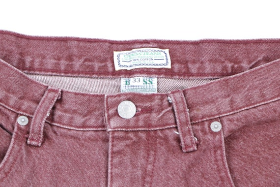 90s Guess Streetwear Spell Out Stone Wash Denim S… - image 3