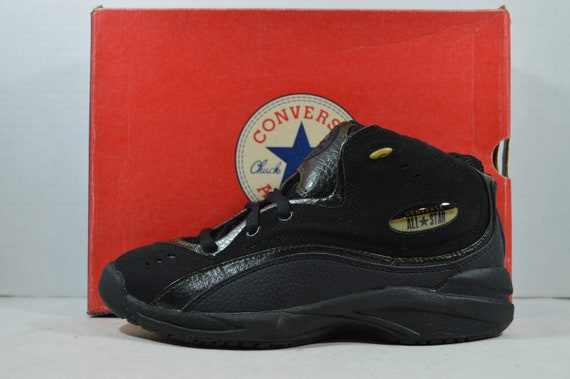 Vintage 90s New Converse All Star Recruit Mid Men… - image 4