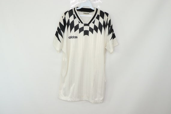 90s New Adidas Spell Out Soccer Germany Deutschlan