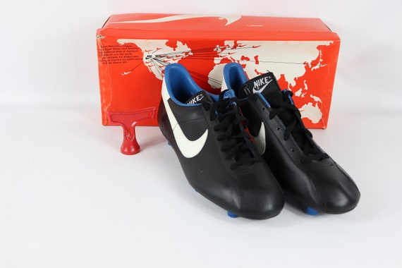 80s New Nike Mirage M Soccer Cleats Shoes Boots Bl