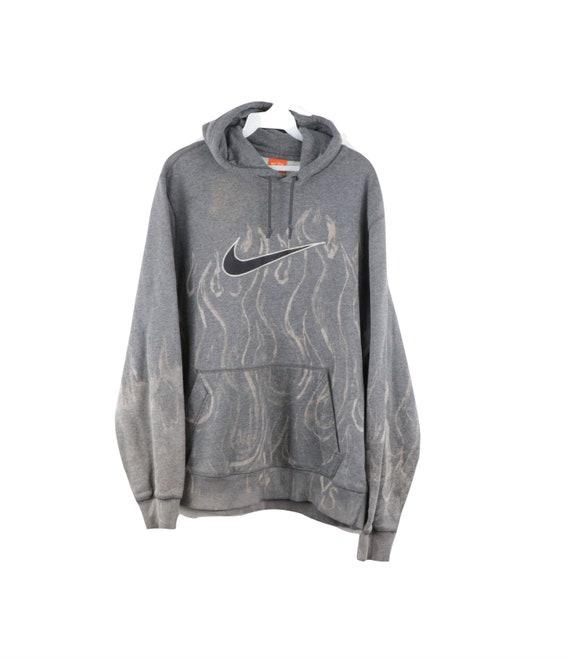 90s Nike Travis Scott Big Swoosh Distressed Faded