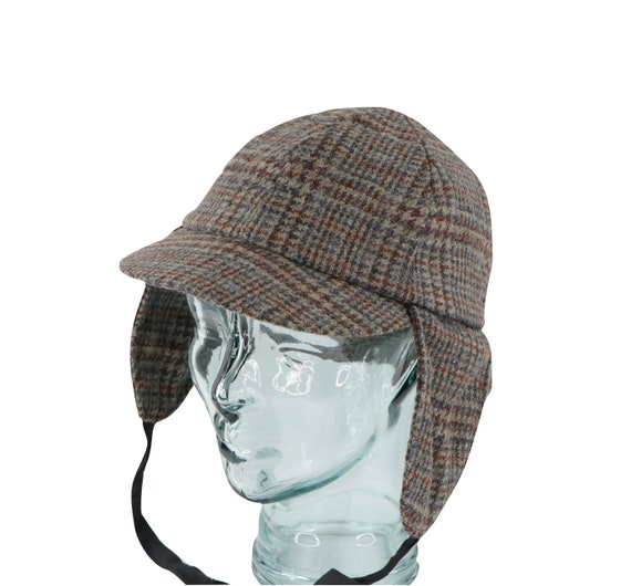 80s Kangol Sherlock Holmes Deerstalker Detective T