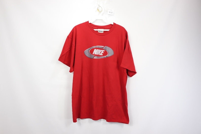 5af0daa9 90s Nike Just Do It Spell Out Short Sleeve T-Shirt Shirt Red Cotton Mens  XL, Vintage Nike T-Shirt, Nike Just Do It Shirt, Mens Vintage Shirt