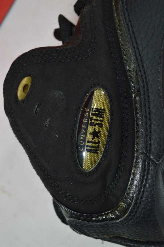Vintage 90s New Converse All Star Recruit Mid Men… - image 8