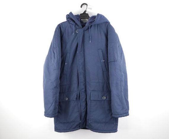70s Sears Field Master Hooded Lined Parka Jacket N