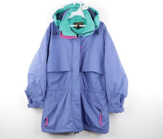 80s Eddie Bauer Goretex Hooded Hiking Parka Jacket