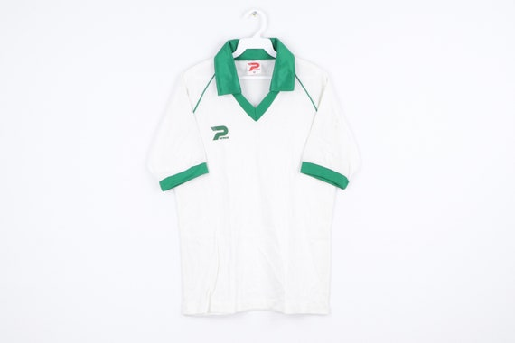NOS 70s Patrick Spell Out Short Sleeve Collared So