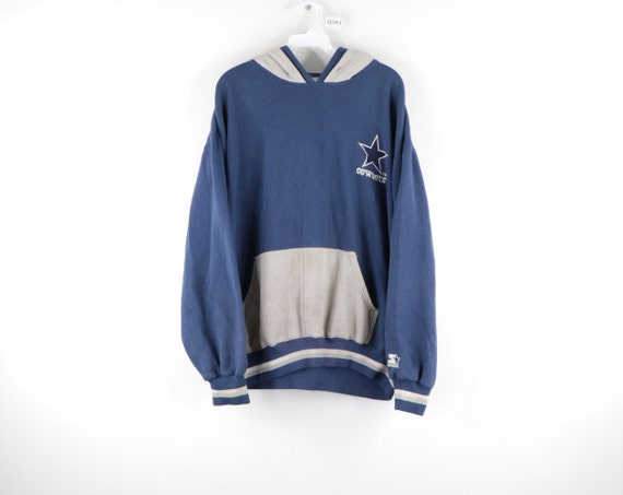 90s Starter Dallas Cowboys Stitched Double Hood Ho