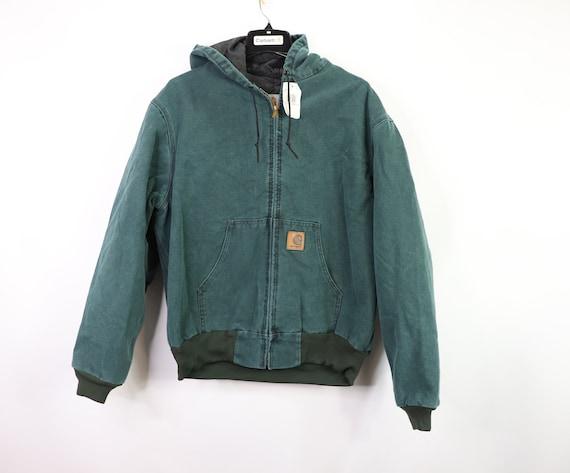 New Carhartt Full Zip Outdoor Hooded Work Jacket U