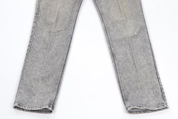 80s Levis Streetwear Distressed Faded Acid Wash D… - image 3