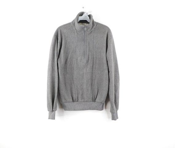90s Streetwear Casual Half Zip Fleece Pullover Swe