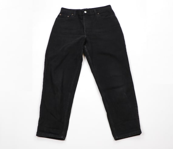 90s Levis 550 Relaxed Fit Tapered Leg Distressed J