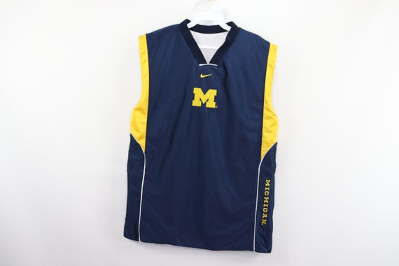 Nike Michigan Wolverines Mens Navy Blue