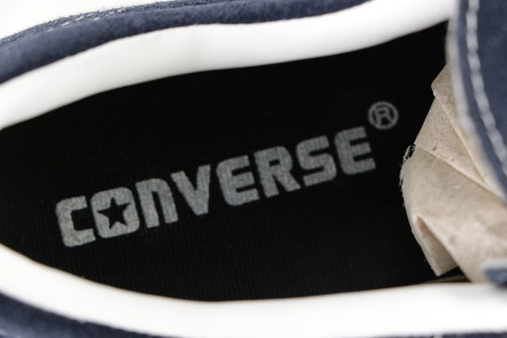 90s NOS Deadstock Converse One Star Suede Ox Snea… - image 5